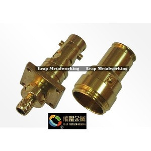 OEM precision Connector Fittings Joints Fittings Brass parts Taiwan OEM Carbon steel Screw machine parts cnc lathe pieces