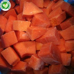 Wholesale Fresh Sweet IQF Frozen Papaya Price