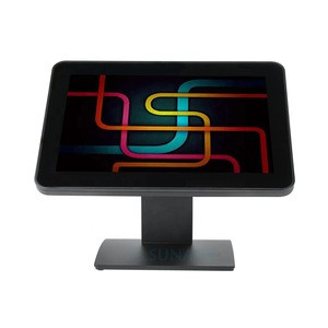 Wholesale touch screen monitor Plastic Case and Metal Stand touch screen monitor LCD pos touch panel screen