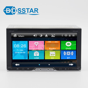 Windows Universal Car DVD For all car With Backup Camera By Free Support Bluetooth Hand Free Call