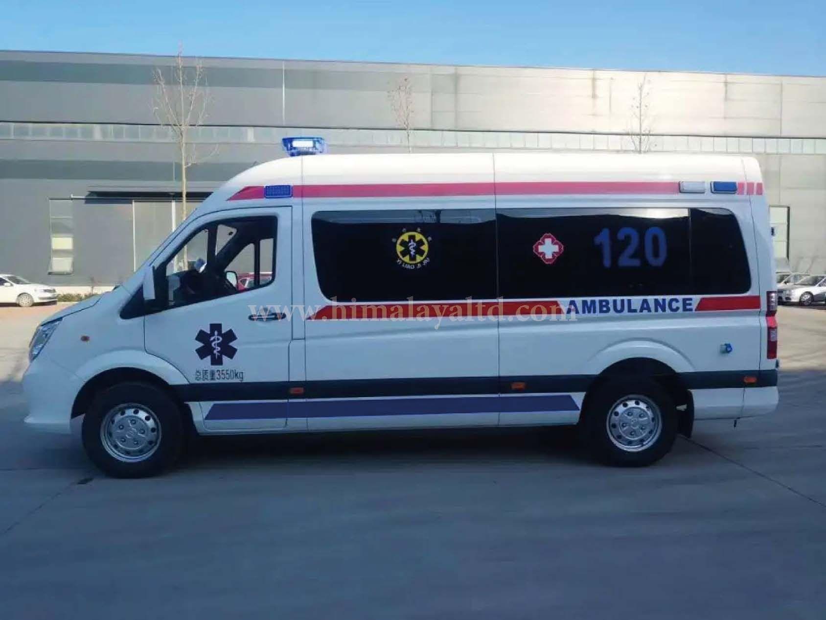 Negative Pressure Ambulance Covid-19 Ambulance Transfer Ambulance Mobile N95 Ambulance