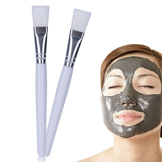 Cosmetic Makeup Tool Facial Soft Silicone Face Mask Brush