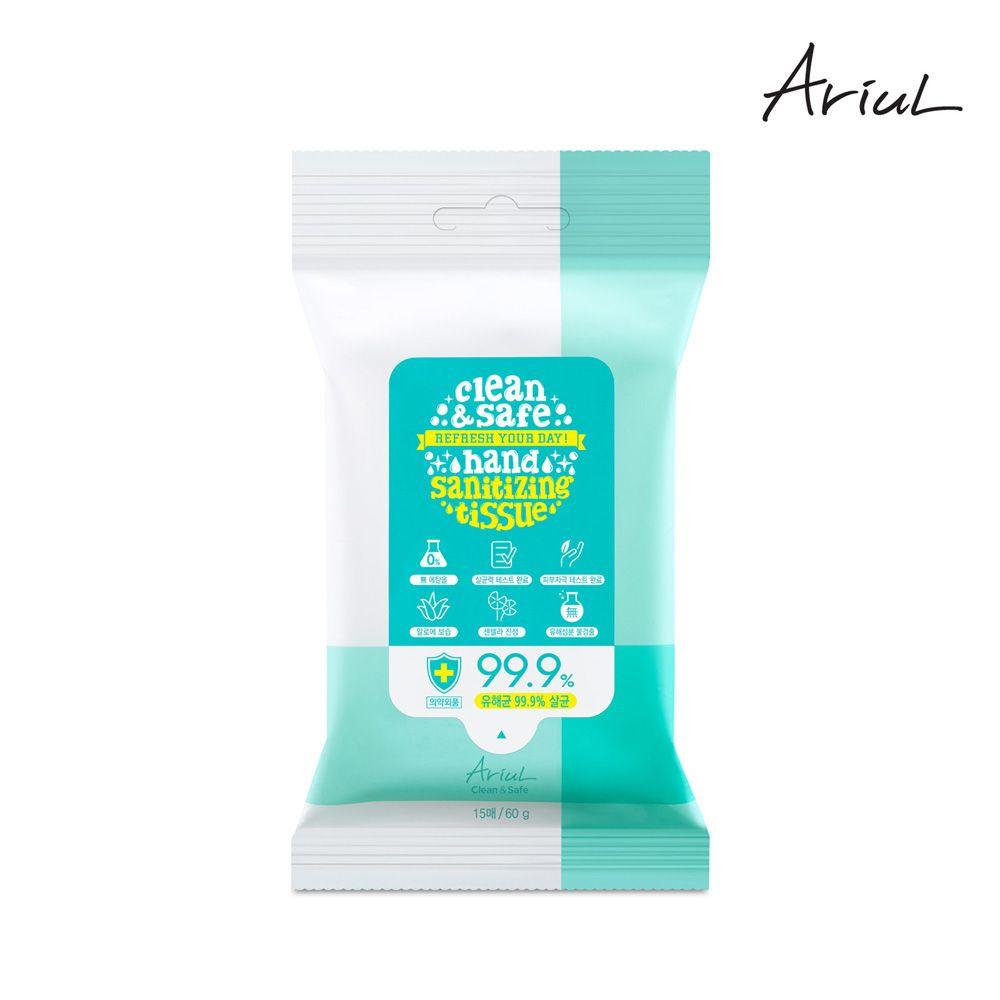 Hand Sanitizing Tissue 15 Sheets