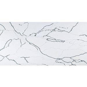 Factory Direct Artificial Custom Polished Calacatta White Quartz Stone Slabs
