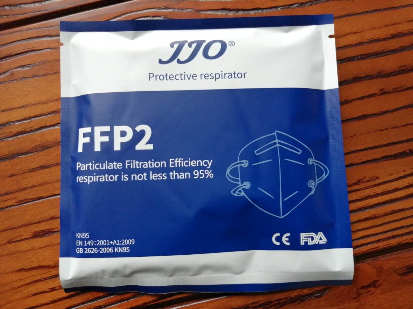 KN95 Face Mask with FFP2  on Mask with CE testing report