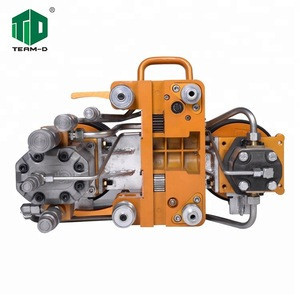 15 guide wheels multi stone diamond wire saw machine for granite mine