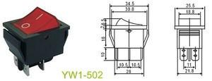 16a rocker switch t125 55, t120 rocker switch 250v t125