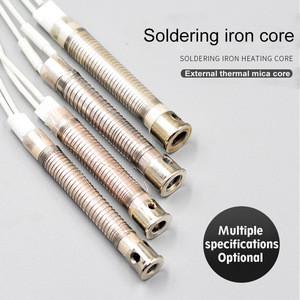 30w 40w 60w 80w 100w Electric soldering iron accessories three layer mica external soldering iron heating core