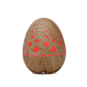 400ml humidifier essential oil diffuser wood grain Q06