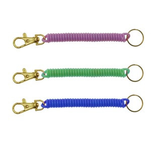 4.75inch Bungee Cord with Metal Keychain
