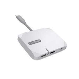 4K Hdtv Video Adapter Usb 3.1 Type-C Hub With 5 Ports Type-c Hub