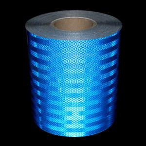 50m*20cm Motorcycle decoration Reflective Tape Custom Strips Safety Material Warning Adhesive Tape Battenburg markings