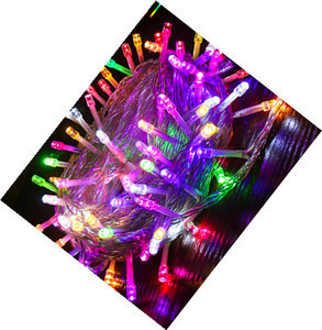 8 different play modes programmable led battery light string 100m Party  Christmas light