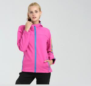 AGRADECIDO Windstopper Polar Fleece Jacket Woman Coat Women Outdoor Jacket Softshell jacket