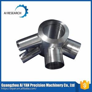 Aluminum precision machining cnc lathe process service parts