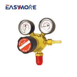 British Type Oxygen Acrtylene CO2 Gas  Pressure Regulator