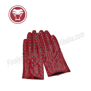 Cheap price high customized ladies leather gloves dressing gloves with great quality