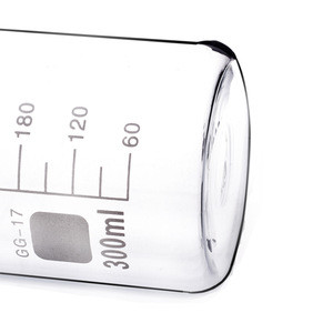 China Manufacture High Transparency Cheap Price Borosilicate Lab Glass Beaker