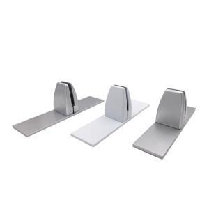 CM-J014 2020 2020 New Aluminium Alloy Office Screen Clamp Acrylic Clamp Desk Partition Clamp