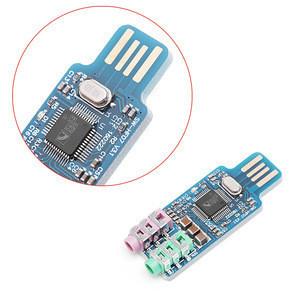 CM108 USB Drive Free Sound Card Laptop Computer External Sound Card Module