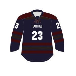 Custom made professional laced collar sublimated hockey jersey youth ice hockey jerseys