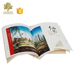 Custom Printed A4/A5 Soft Cover Full Color Workbook Booklet Book Catalogue Brochure Printing