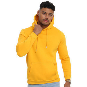 Customized pullover hoodie without pockets
