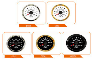 Factory 52mm Voltmeter Volt Gauge Meter 16V-32V For ATV UTV Automobile Marine