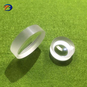 Factory bk7/fused silica optical glass plano concave lens for optical instruments