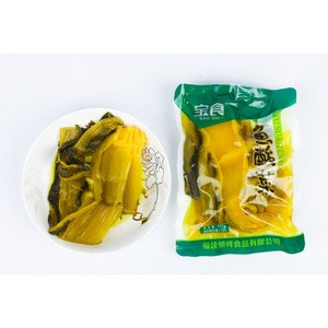 Factory new arrival vegetable cans manufacturer Chinese preserved vegetable pickle