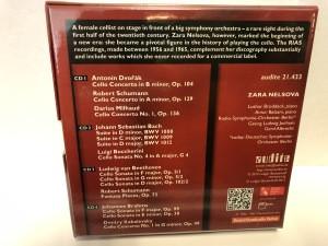 Good quality listening A Sound  Portrait of Cellist Zara Nelsova - cello concertos, sonatas and suites