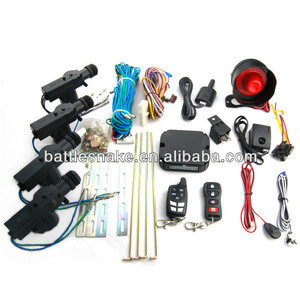 Hot selling Two way car alarm system with central locking