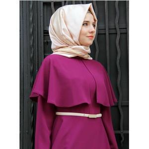 Islamic Moslem Long Dress Cloak Plus Size Women Clothing Arab National Robe Abaya