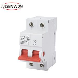 JUESENWDM 100 amp circuit breaker hyundai mcb DC Breaker