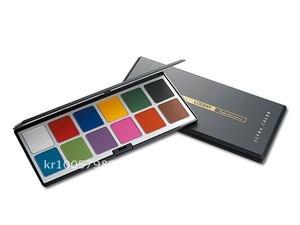 L'OCEAN Body & Face Paint - OIL Type, Oil Based 12/colors Palette