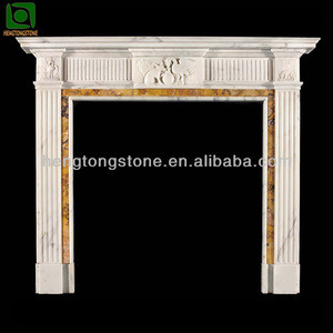 Marble Carved Electric Fireplace Parts