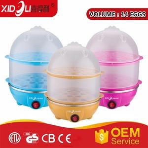 Multifunction household portable 350W electric egg cooker egg boiler egg steamer