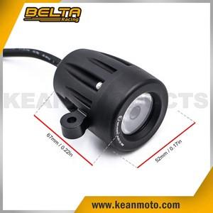 New CNC Aluminum Motorcycle Driving Spot Light Auxiliary Light Fog Light KAL-C19