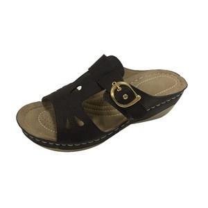 New Design TPR Upper Wedges Women Slipper High Heel Lady Sandals