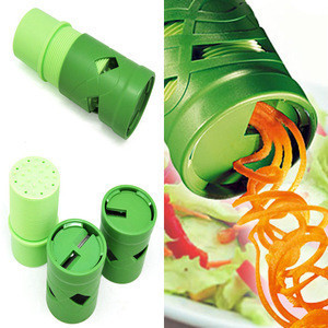 New Easy 1pc Easy Multifunctional Cucumber Spiral Choppers Kitchen Vegetable Carrot Cutter Fruit Veggie Slicer Cooking Tool