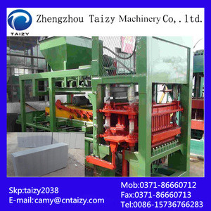 New Technology building construction soil brick making machine price cement brick machine