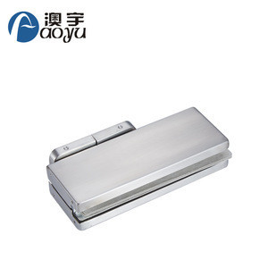 Non-digging hydraulic stainless steel glass door floor spring floor hinge with glass door closer