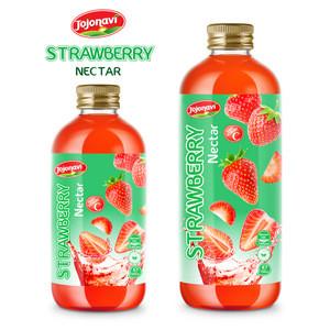OEM Private label Pink Guava juice JOJONAVI brand fruit nectar juice
