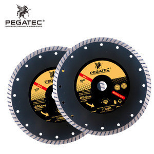 PEGATEC 250mm 10inch diamond saw blades for concrete cuttee armad marble tile cutter