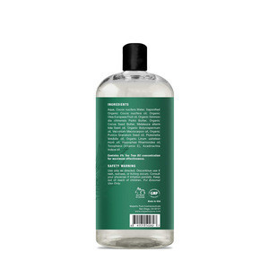 Private Label Pure Natural Organic Tea Tree Body Wash Deep cleaning Moisturizing Body Shower Gel