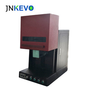 Raycus Small Closed Fiber Laser Engraving Marking Machine 30W for Metal and Non-Metal