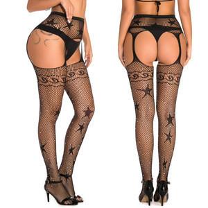 Sexy   silk stockings tight package buttock lace 2 piece set lingerie women women lingerie shorts plus size lingerie 3 piece set