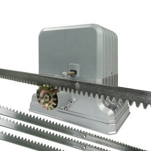 Sliding door motor electric gate opener with gear rack and pinion