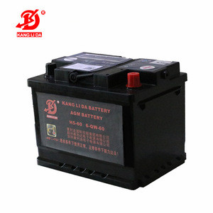 Star tstop car battery H5-60 12v 60ah AGM battery baterias auto deep cycle rechargeable battery