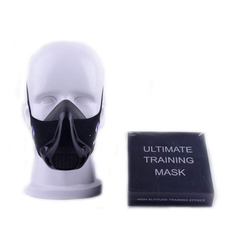 Training Mask High Altitude Running Mask For Resistance Breathing Oxygen Sport Fitness